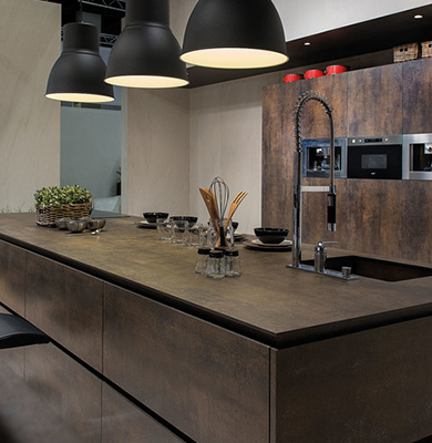 Cucina in Neolith - Iron