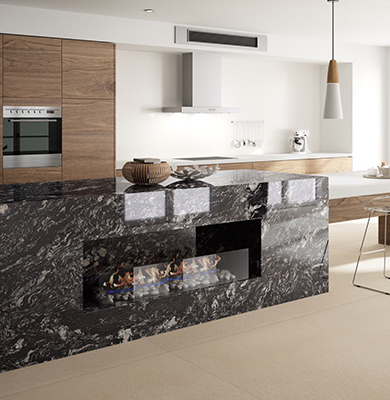 Top in Silestone - Indian-Black